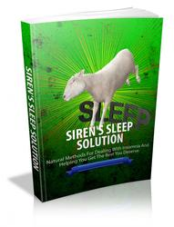 Sirens Sleep Solution
