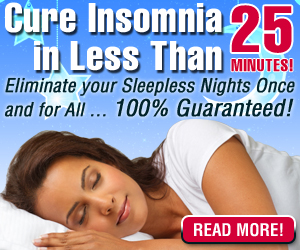 New Home Remedy to Cure Insomnia